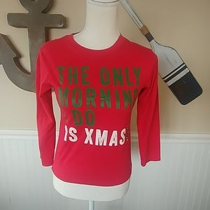 Childrens Place Christmas Top